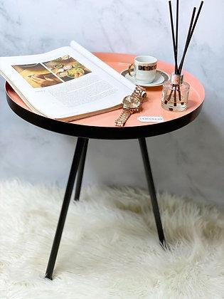 Foldable Coffee Table - Peach