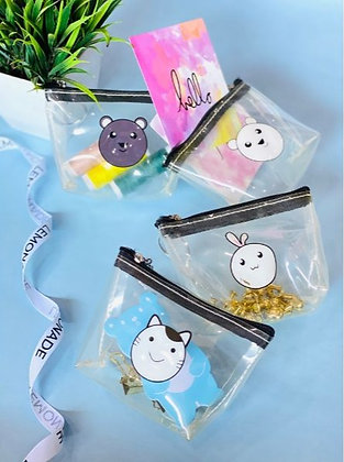 Waterproof Keychain Pouch - Smiling Face