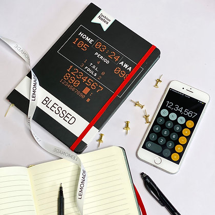 Notebook - Numbers - With Elastic Band