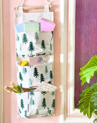 Wall Hanging Organizer - Natural Trees