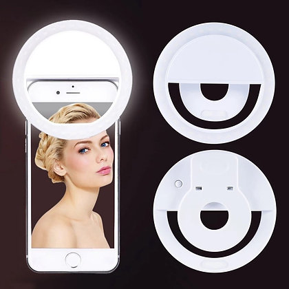 Selfie Ring Light - White