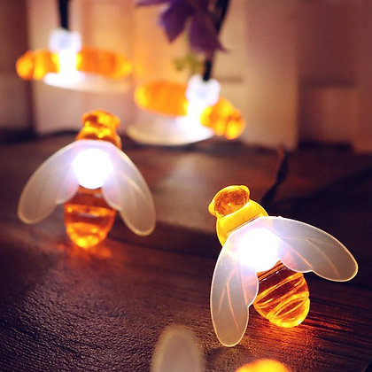 Festive Bee Lights