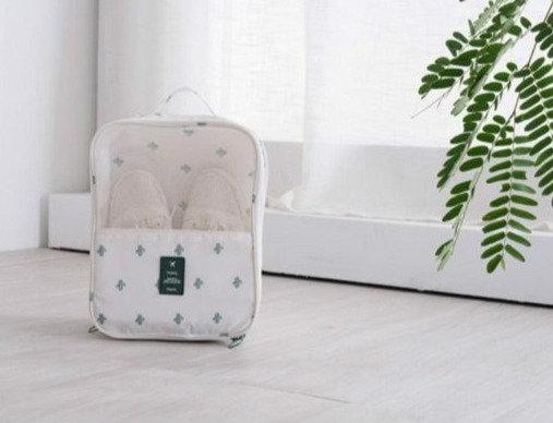 Waterproof Shoe Bag Organizer - Cactus