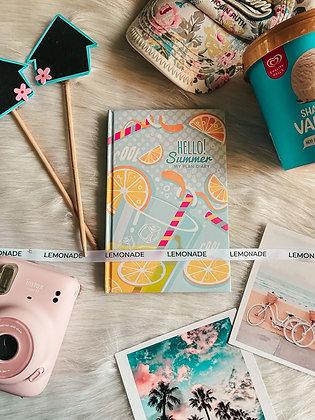 Notebook - Lemonade Summer