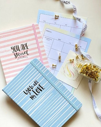 Notebook - You Are So Loved - With Elastic Enclosure