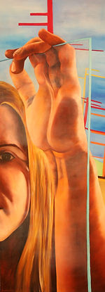 contemporary art, toronto artist, oil painting, figure painting