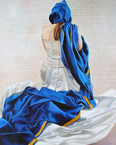 oil paint art contemporary artist oil figurative art