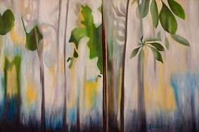 nature art, contemporary art, Toronto art, oil painting