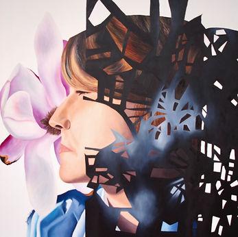 figurative art, contemporary art, portiture oil paint, fine art, Toronto artist