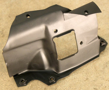 (AAC-14) 1972-1974 VW Bus Type 4 Front Right Warm Air Duct Engine Tin.jpg