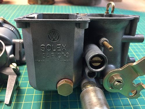 """Your own"" SOLEX 34 PICT-3 Carburettor - Refurbished"