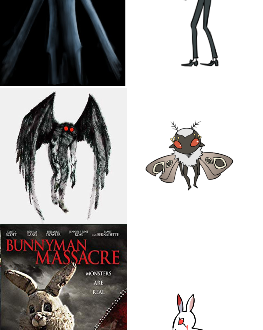 The original ideas of the monsters