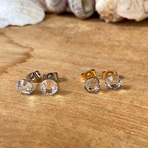 Swarovski oorbellen kristal