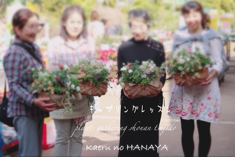 ギャザリングレッスン|Kaeru no HANAYA