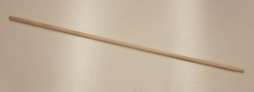 Gerätestiele mit Konus, 28 mm stark, Eschenholz