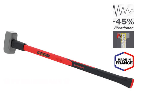 Vorschlaghammer 4 kg, Nanovib, Leborgne, 45% weniger Vibration