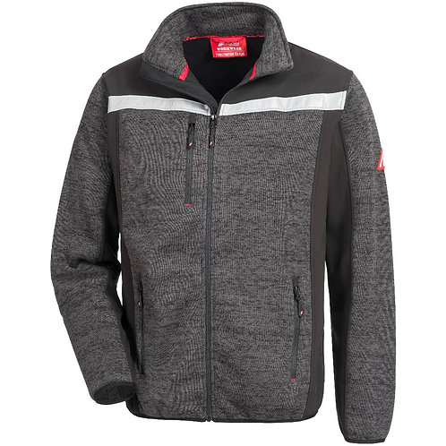Strick-Softshell-Jacke MOTION TEX PLUS, schwarz