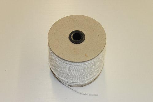 Maurerschnur, Pflastererschnur, 100 Meter 2 mm stark, weiß