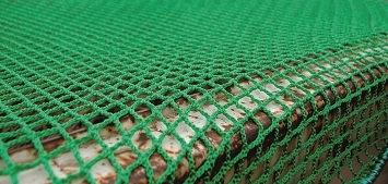 Abdecknetze, engmaschig mit umlaufender Gummileine