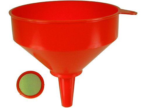 Trichter Kunststoff, Durchmesser 200 mm, 2,9 Liter mit Sieb