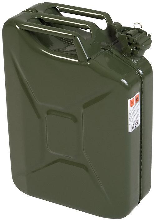 Treibstoffkanister, Benzinkanister, Dieselkanister, Stahl