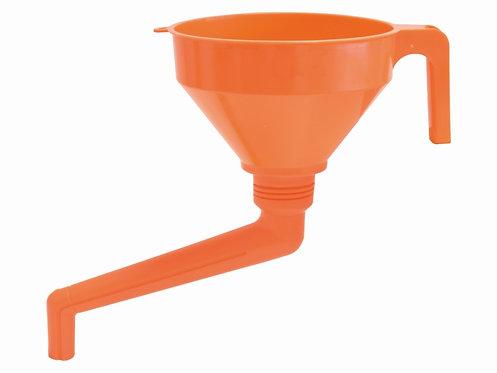 Kombi-Trichter, Kunststoff, 3-Stufen Auslauf, 160 mm Durchmesser