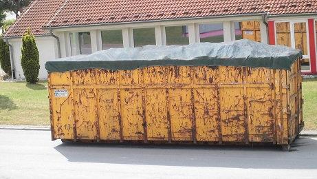 Container- und Pritschen-Abdeckplane, luftdurchlässig, Profi