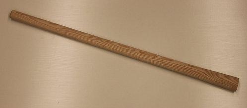 Kreuzhackenstiel, Pickelstiel für Kreuzhacken 1,5 kg, Eschenholz