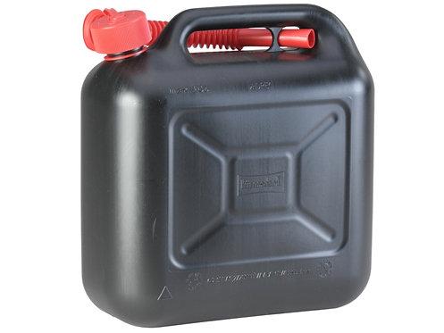 Treibstoffkanister, Benzinkanister, 10 ltr. Kunststoff