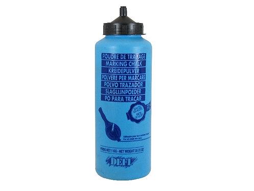 Farbpulver für Schlagschnurgeräte, Farbe schwarz