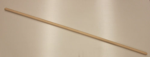 Teergerätestiele 32 mm mit kurzem Konus, gerade, Eschenholz