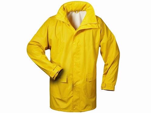 Regenjacke, PU-Stretch, wind-wasserdicht, atmungsaktiv