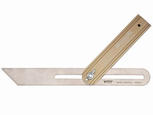 Schmiege 300 mm, Alu-Schenkel, Stahlklinge