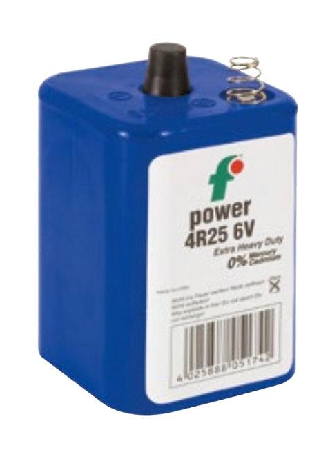 Blockbatterie, 6V/7Ah, ohne Quecksilber, ohne Cadmium