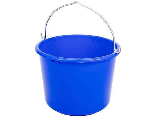 Baueimer blau, hochelastisches und winterhartes Material, Profi