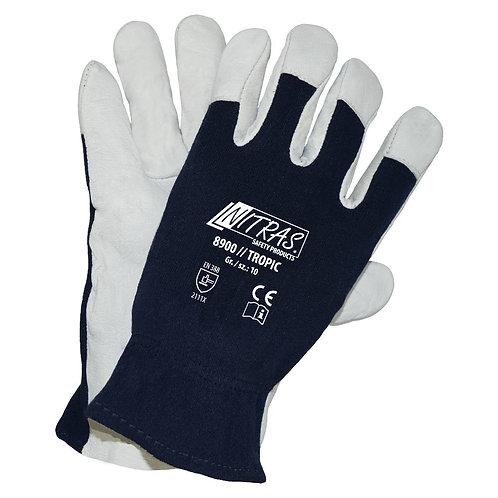 Mechaniker-Handschuh, Nappaleder