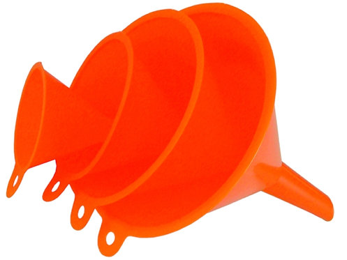 Trichtersatz, 50-75-100-120 mm aus Kunststoff