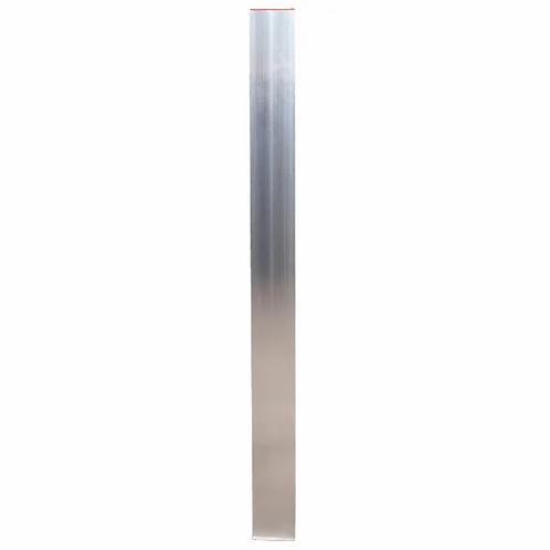 Richtlatte, Setzlatte aus 2-Kammer-Rechteckprofil mit Endkappen