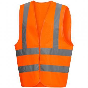 Warnweste mit Schulterreflexstreifen
