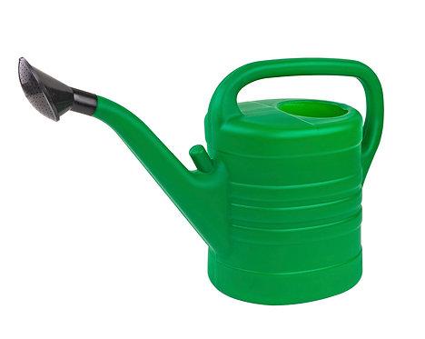 Gießkanne aus Kunststoff,10 Liter mit Brause