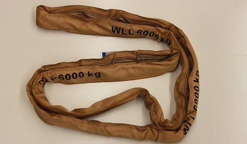Rundschlinge 6000 kg mit verstärktem Schlauchmantel