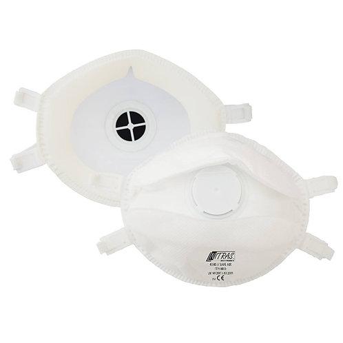 Feinstaub-Filtermaske FFP3, mit Ausatemventil