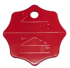 Belastungskennzeichnungsplakette für Mehrstrang-Anschlagkette