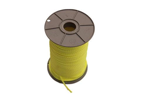 Pflastererschnur, 100 Meter 3 mm stark, neongelb