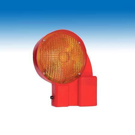 Bakenleuchte zweiseitig gelb in LED Technik