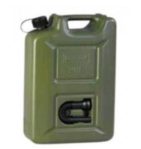 Kraftstoffkanister, Kunststoff, 20Liter mit Auslaufstutzen