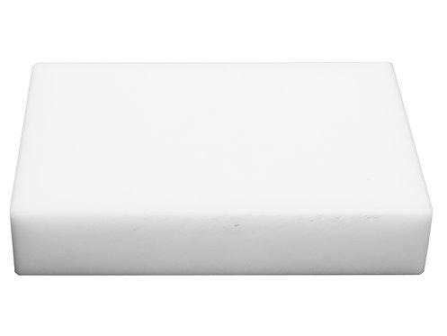 Kunststoffschlagplatte aus Polyäthylen, 200x140x40 mm
