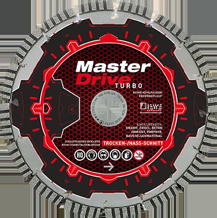 Diamanttrennscheibe Master Drive 300-450 mm