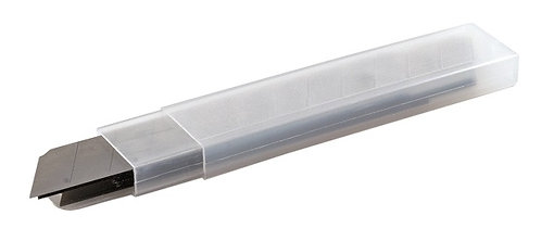 Ersatzmesser für Cutter 18 mm, Box a 10 Klingen