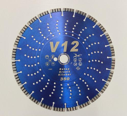 Super Premium Diamanttrennscheibe V 12, 350 mm Durchmesser